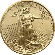 Zlatá investičná minca American Eagle 1/4 Oz