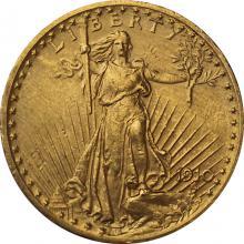 Zlatá minca American Double Eagle 1910