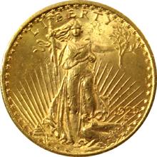 Zlatá mince American Double Eagle 1925
