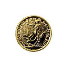 Zlatá investičná minca Britannia 1/4 Oz