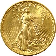 Zlatá mince American Double Eagle 1924
