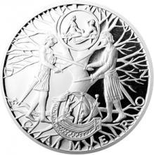 Stříbrná medaile Dekameron den čtvrtý - Porušený slib 2014 Proof