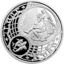 Stříbrná medaile Staroměstský orloj - Ryby 2015 Proof
