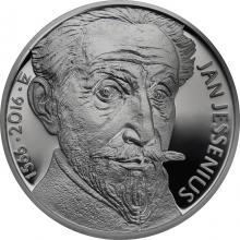 Stříbrná mince 200 Kč Jan Jessenius 450. výročí narození 2016 Proof