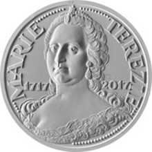 Stříbrná mince 200 Kč Marie Terezie 300. výročí narození 2017 Standard