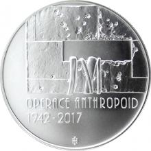 Stříbrná mince 200 Kč Operace Anthropoid 75. výročí 2017 Standard