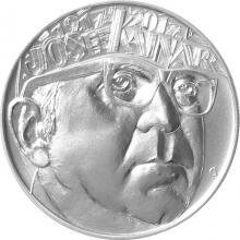 Stříbrná mince 200 Kč Josef Kainar 100. výročí narození 2017 Standard