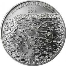 Stříbrná mince 200 Kč Vydání Klaudyánovy mapy 500. výročí 2018 Standard