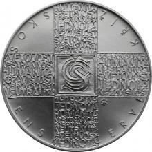 Stříbrná mince 200 Kč Založení Československého červeného kříže 100. výročí 2019 Standard