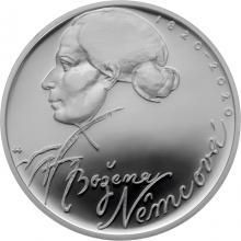 Strieborná minca 200 Kč Božena Němcová 200. výročie narodenia 2020 Proof