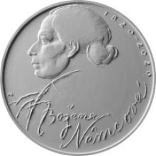 Stříbrná mince 200 Kč Božena Němcová 200. výročí narození 2020 Standard