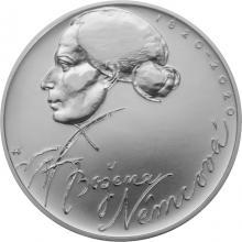 Strieborná minca 200 Kč Božena Němcová 200. výročie narodenia 2020 Štandard