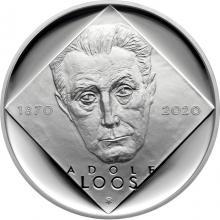 Stříbrná mince 200 Kč Adolf Loos 150. výročí narození 2020 Proof