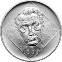 Stříbrná mince 200 Kč Adolf Loos 150. výročí narození 2020 Standard