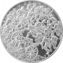 Stříbrná mince 500 Kč Bitva u Zborova 100. výročí 2017 Standard