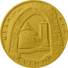 Zlatá minca 5000 Kč Hrad Švihov 2019 Proof