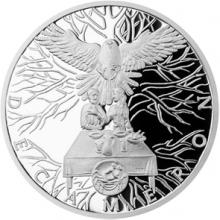 Stříbrná medaile Dekameron den pátý - O sokolovi 2015 Proof