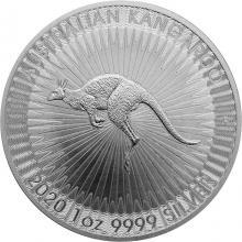 Stříbrná investiční mince Kangaroo Klokan 1 Oz