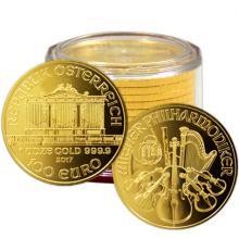 Zlatá investiční mince Wiener Philharmoniker 1 Oz - Investiční Paket 10 Kusů