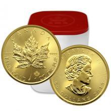 Zlatá investiční mince Maple Leaf 1 Oz (Odběr nad 10 Ks)