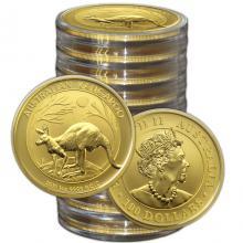 Zlatá investičná minca Kangaroo Klokan 1 Oz (Odber nad 10 Ks)