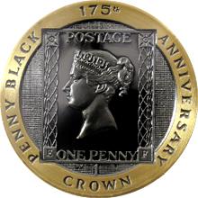 Zlatá mince Penny Black 175. výročí 1 Oz 2015 Proof