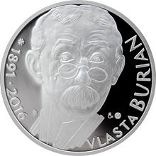 Stříbrná medaile Vlasta Burian 2016 Proof