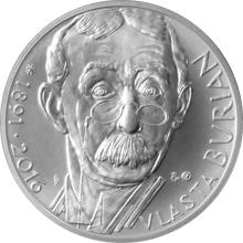 Stříbrná medaile Vlasta Burian 2016 Standard