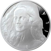 Stříbrná medaile Lucie Bílá 2016 Proof