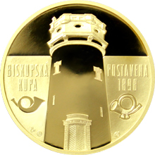 Zlatá uncová medaile Rozhledna Biskupská kupa 2016 Proof