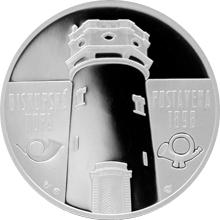 Stříbrná medaile Rozhledna Biskupská kupa 2016 Proof