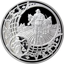 Stříbrná medaile Staroměstský orloj - Váhy 2016 Proof