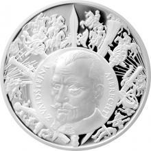 Stříbrná medaile Dějiny válečnictví - Bitva u Lützenu 2017 Proof