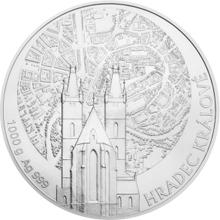 Stříbrná kilová investiční medaile Statutární město Hradec Králové 2016 Standard
