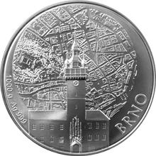 Stříbrná kilová investiční medaile Statutární město Brno 2016 Standard