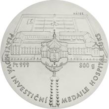 Platinová investiční medaile Hospital Kuks 2016 Standard