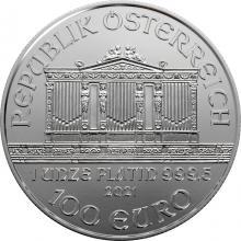 Platinová investičná minca Wiener Philharmoniker 1 Oz