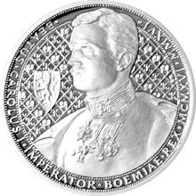Stříbrná mince 1 NZD Karel I. 2016 Proof