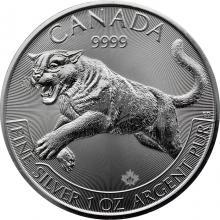 Strieborná investičná minca Puma Predator 1 Oz 2016