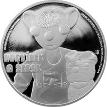 Stříbrná mince 1 NZD Hurvínek a Žeryk 2016 Proof