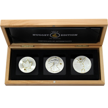 Nugget Edition The Americas Sada stříbrných mincí 2015 Standard