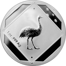 Stříbrná mince Emu 1 Oz Road Sign 2015 Proof