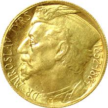 Zlatá Dukátová medaile Miroslav Tyrš 1932