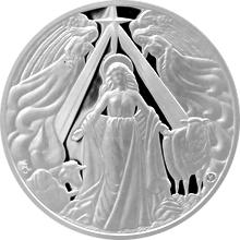 Stříbrná medaile Panna Maria 2016 Proof