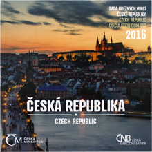 Sada oběžných mincí 2016 Česká republika Standard