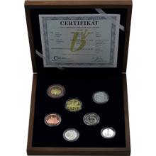 Sada obežných mincí 2016 Proof - drevená etue