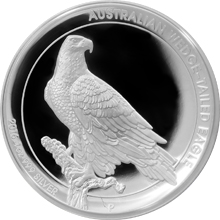 Stříbrná mince Orel klínoocasý 1 Oz High Relief 2016 Proof