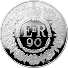 Stříbrná mince Královna Alžběta II. 90. výročí narození 2016 Proof