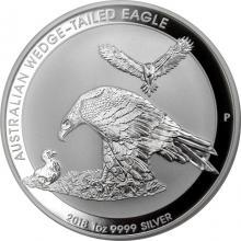 Stříbrná investiční mince Orel klínoocasý 1 Oz 2018