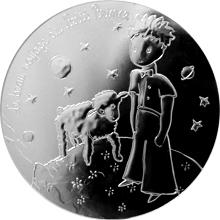 Stříbrná mince Malý princ: Nádherná cesta 2016 Proof